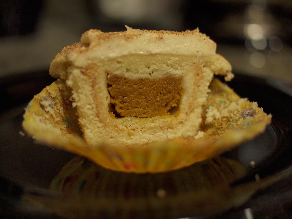 Alcedine » Pumpkin Pie Cupcakes