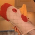'Coraline' Chicken Mitt