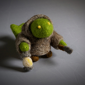 Felted Tonberry